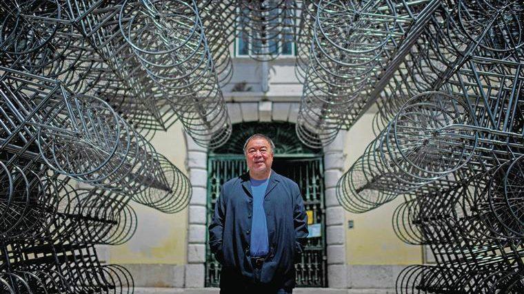 Ai Weiwei inaugura a sua primeira exposição em Portugal